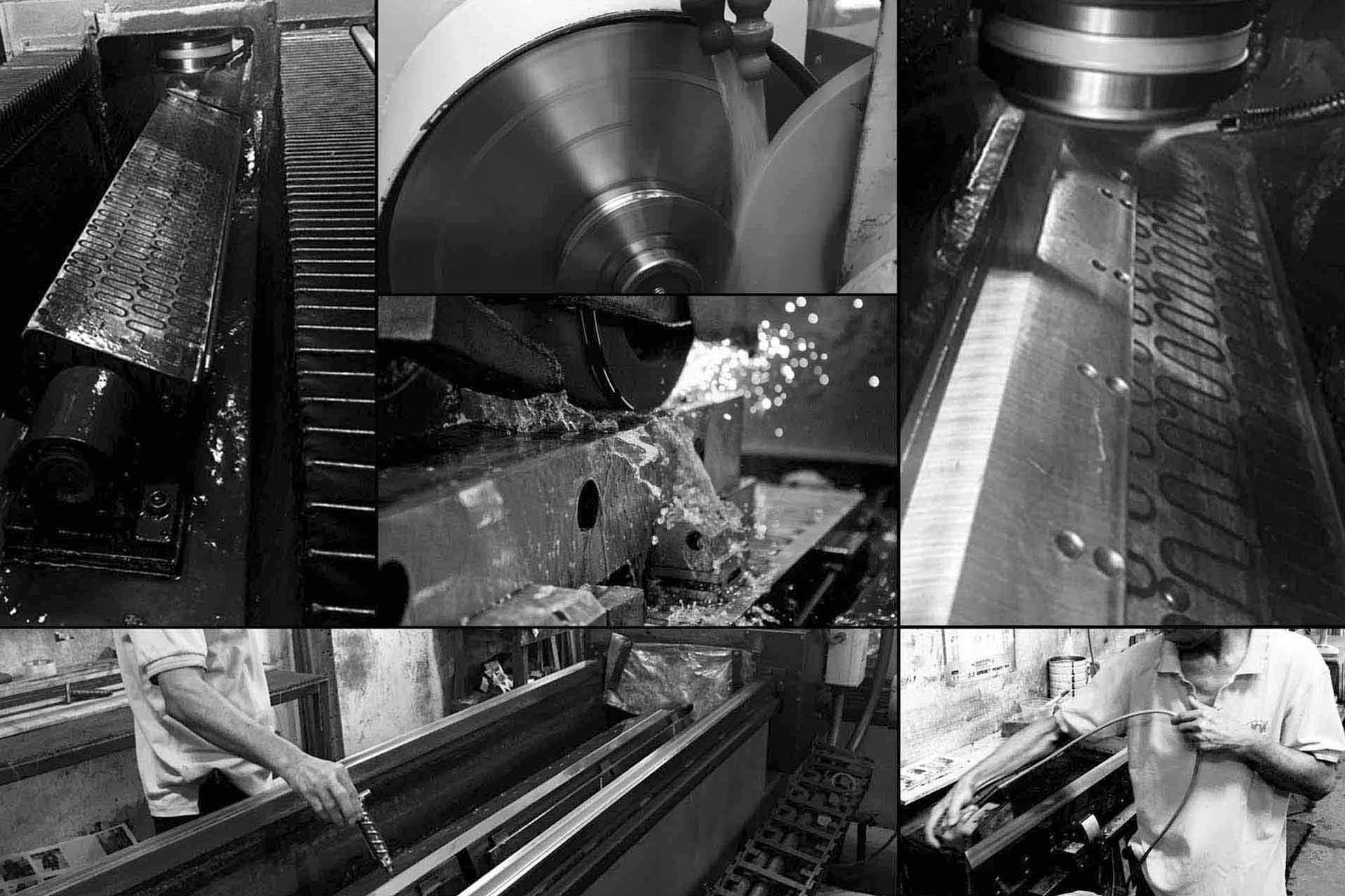 Grinding Knives Process